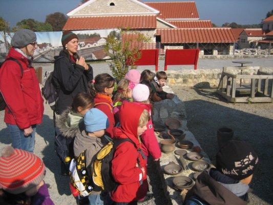"""Going-Out - Besuch im Archäologischen Park """"Carnuntum"""" passend  zum Thema """"Hochkulturen"""""""
