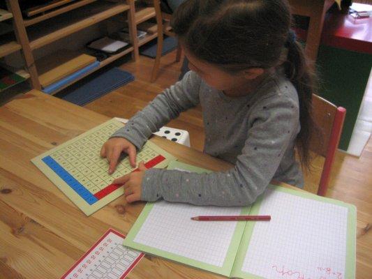 Arithmetik  -  Additionstabelle 1 - Ziele: Einüben und Einprägen aller Grundaufgaben der Addition mit einstelligen Summanden, Anwenden des Vertauschungsgesetzes,  Ermitteln von Summanden zu vorgegebenen Summen.