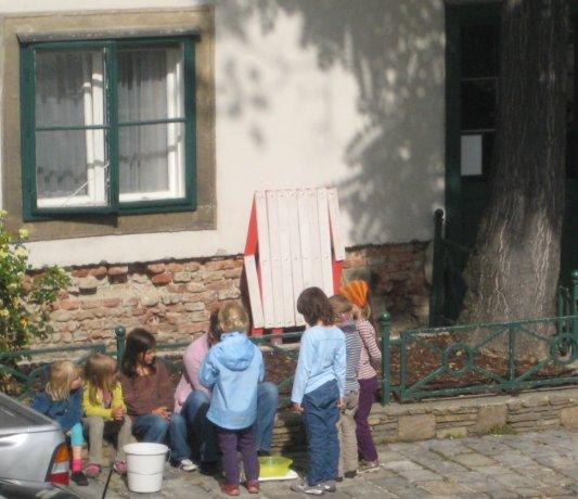 Experimente im Freien