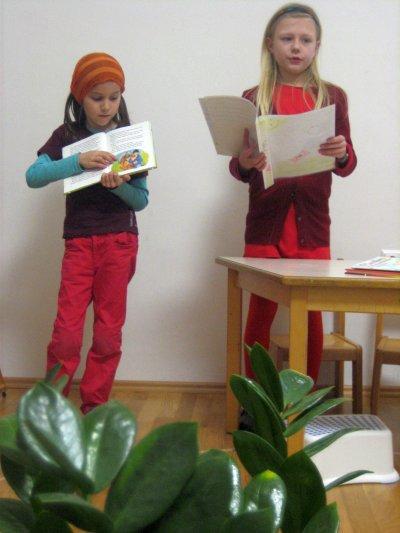 Sprache - Literaturreferat (Arbeit mit Fragtafeln)